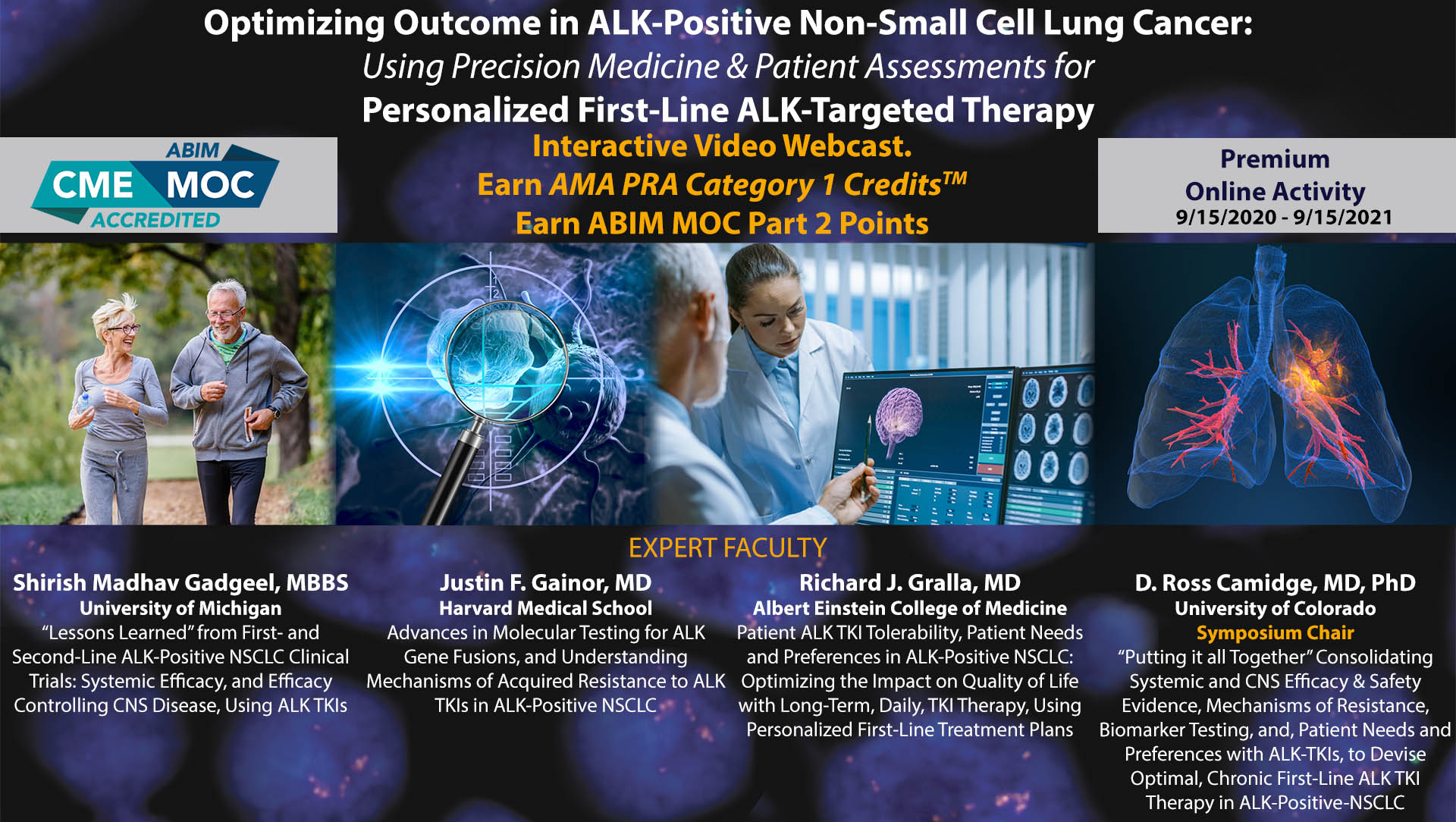 Optimizing Outcome in ALK-Positive Non-Small Cell Lung Cancer: Using Precision Medicine & Patient Assessments for Personalized First-Line ALK-Targeted Therapy